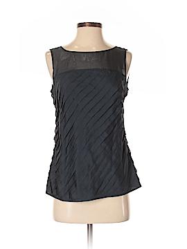 Brooks Brothers Sleeveless Silk Top Size 4