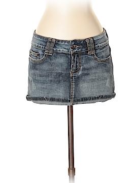 Blue Asphalt Denim Skirt Size 3