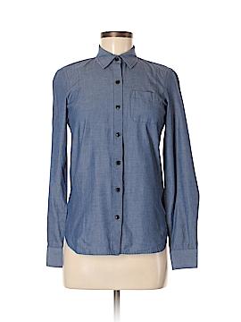 QMack Long Sleeve Button-Down Shirt Size XS