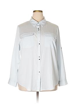 Ivanka Trump Long Sleeve Blouse Size 1X (Plus)
