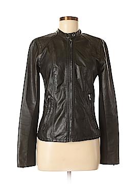 Express Faux Leather Jacket Size M
