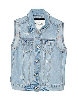 Abercrombie Denim Vest Size X-Large (Youth)