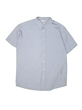 Talbots Kids Short Sleeve Button-Down Shirt Size 18