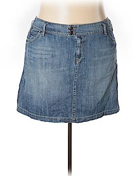 Old Navy Denim Skirt Size 24 (Plus)