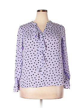 Elle Long Sleeve Blouse Size L