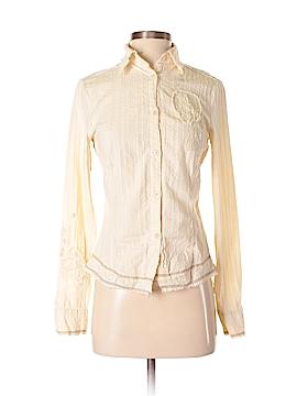 Mur Mur Long Sleeve Button-Down Shirt Size S