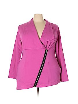 Midnight Velvet Jacket Size 2X (Plus)