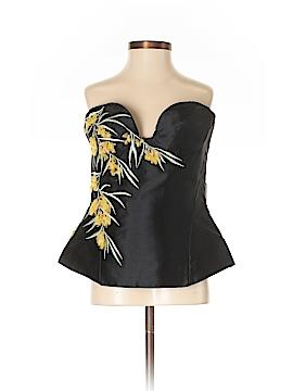 Roberto Cavalli Sleeveless Silk Top Size 38 (IT)