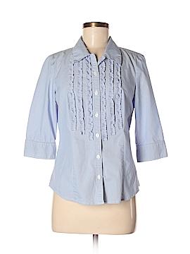 Ann Taylor Factory 3/4 Sleeve Blouse Size 8 (Petite)