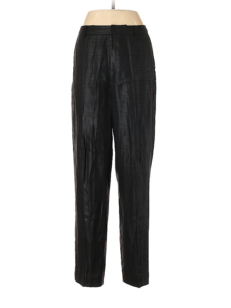 Linda Allard Ellen Tracy Women Linen Pants Size 8