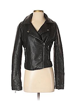 Ci Sono Faux Leather Jacket Size S