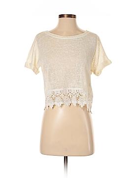 Love Culture Short Sleeve Blouse Size S