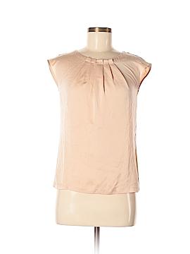 L.K. Bennett Short Sleeve Blouse Size 4