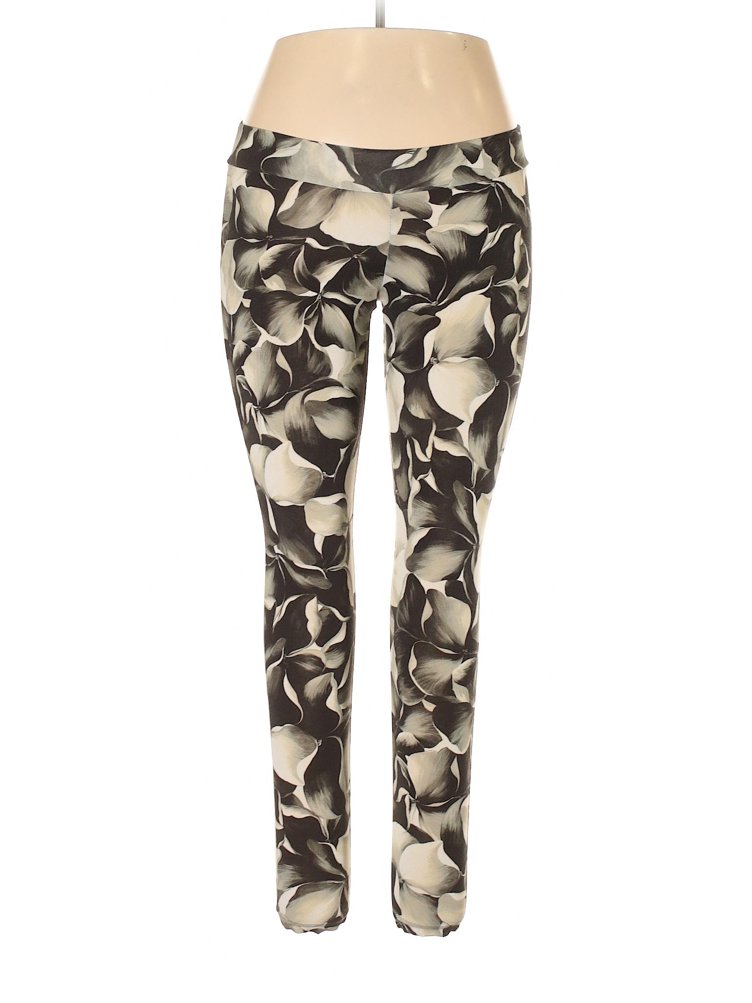 980e725a0e2ea Moncler Floral Dark Green Leggings Size M - 81% off | thredUP