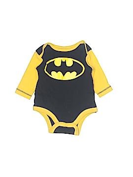 Batman Long Sleeve Onesie Size 0-3 mo