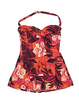 Newport News One Piece Swimsuit Size 14W (Plus)