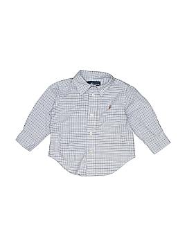 Ralph Lauren Baby Long Sleeve Button-Down Shirt Size 9 mo