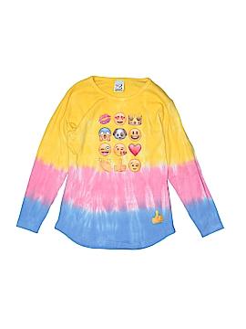 Zinnias Long Sleeve T-Shirt Size 8