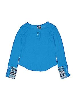 MissUnderstood Long Sleeve Henley Size X-Large (Kids)