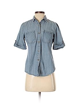 BDG Short Sleeve Button-Down Shirt Size S
