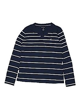 Nautica Long Sleeve T-Shirt Size M (Kids)