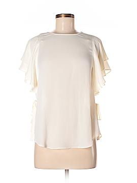 Laundry by Shelli Segal Short Sleeve Blouse Size 2