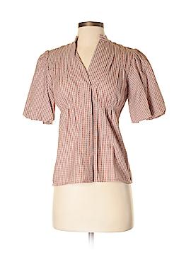 BCBGMAXAZRIA Short Sleeve Button-Down Shirt Size XXS
