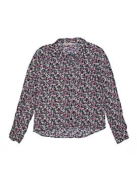 H&M Long Sleeve Button-Down Shirt Size 11 - 12