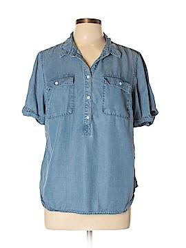 A New Day Short Sleeve Button-Down Shirt Size XL