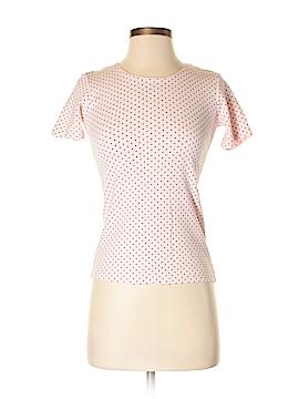 Karen Scott Short Sleeve T-Shirt Size P (Petite)