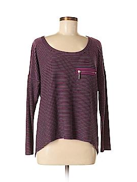 Pink Lotus Long Sleeve Blouse Size M