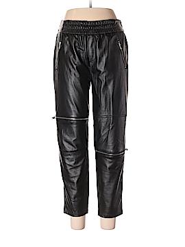 Zara Faux Leather Pants Size L