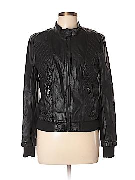 Ci Sono Faux Leather Jacket Size L