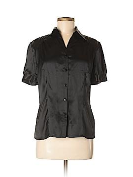Apriori Short Sleeve Silk Top Size 8