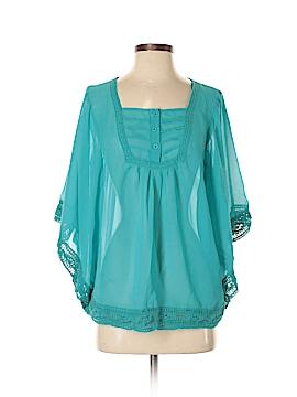 Solitaire Short Sleeve Blouse Size M