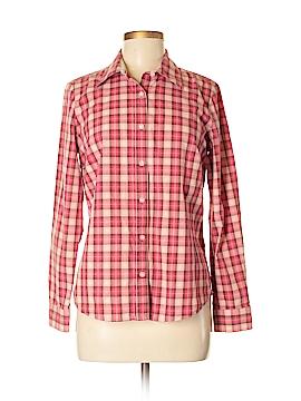 IZOD Long Sleeve Button-Down Shirt Size M