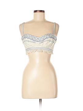 Roberto Cavalli Sleeveless Silk Top Size 40 (IT)