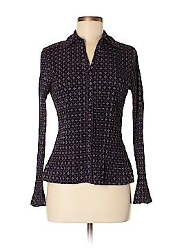 Apt. 9 Long Sleeve Button-Down Shirt Size M (Petite)