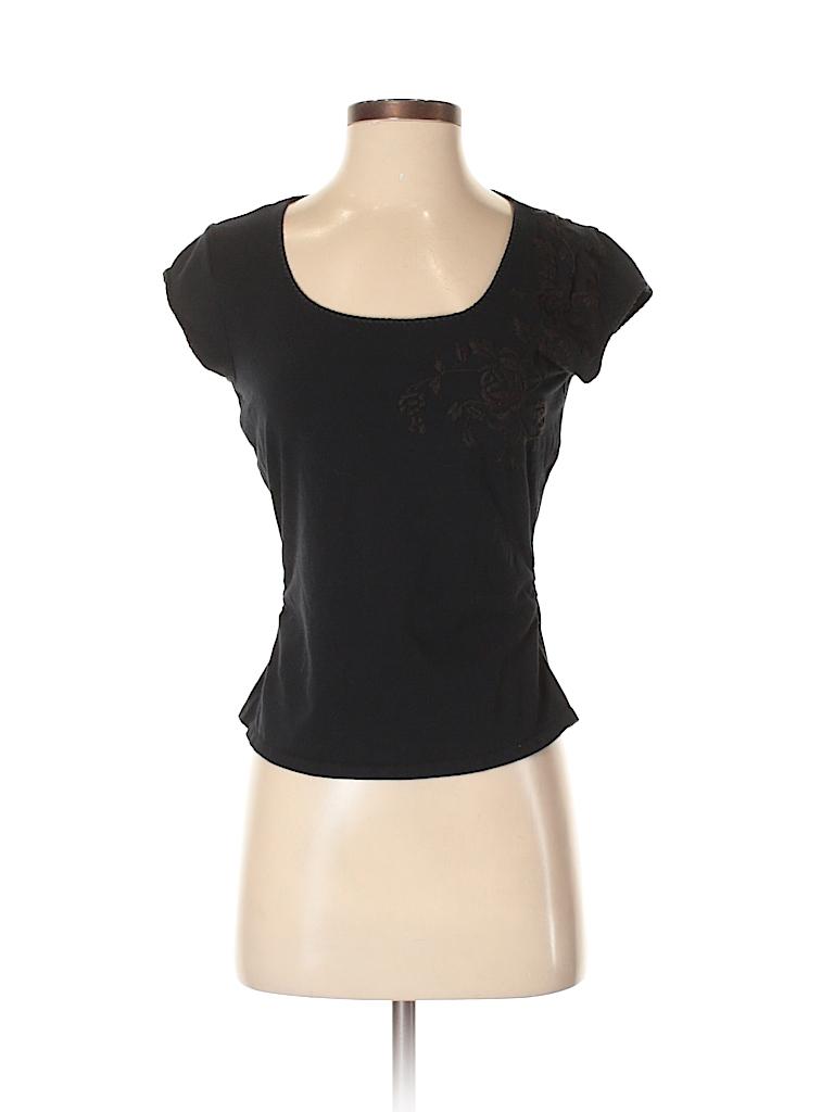 City DKNY Women Short Sleeve T-Shirt Size S