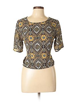 Umgee Short Sleeve Blouse Size L