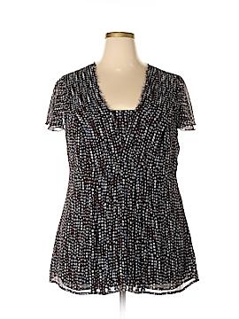 Nine West Short Sleeve Blouse Size 16w
