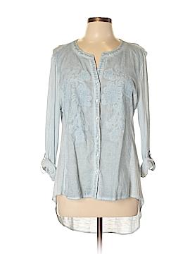 RXB Long Sleeve Button-Down Shirt Size L