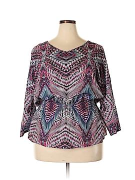 Anne Klein 3/4 Sleeve Blouse Size 1X (Plus)