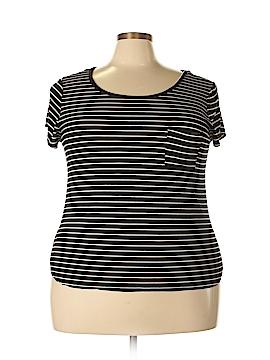 Nicole Miller Short Sleeve T-Shirt Size 2X (Plus)