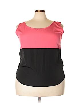 Hype Sleeveless Blouse Size 3X (Plus)