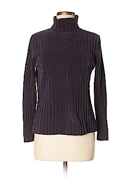 Eddie Bauer Women Turtleneck Sweater Size M