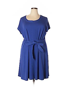 Lands' End Casual Dress Size 3X (Plus)