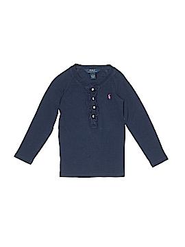 Ralph Lauren Long Sleeve Henley Size 5