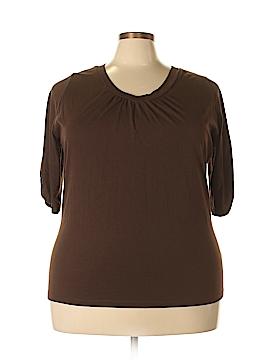 St. John's Bay 3/4 Sleeve T-Shirt Size 3X (Plus)