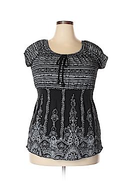 CB Short Sleeve Top Size 1X (Plus)